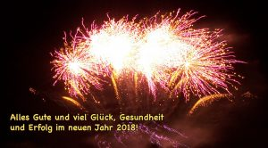 Alles Gute zum neuen Jahr 2018