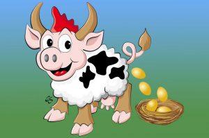 Eierlegende Wollmilchsau von positoons
