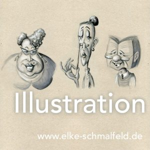 Illustration - Pinterest - Elke Schmalfeld