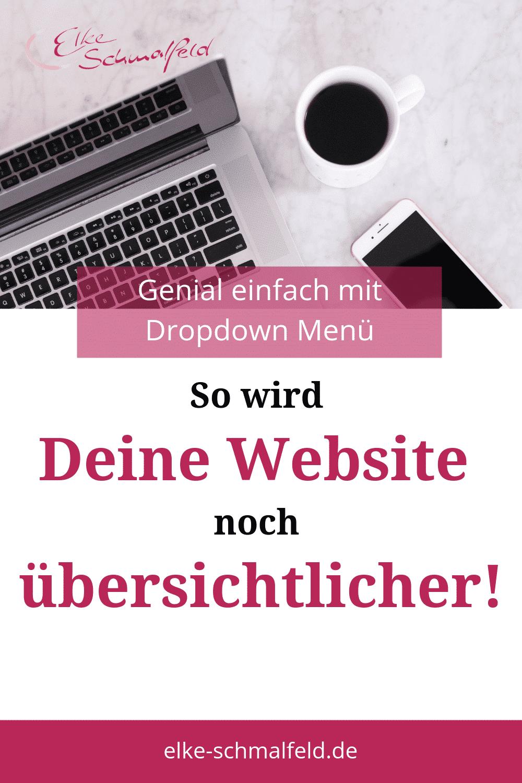 So wird Deine Website übersichtlicher