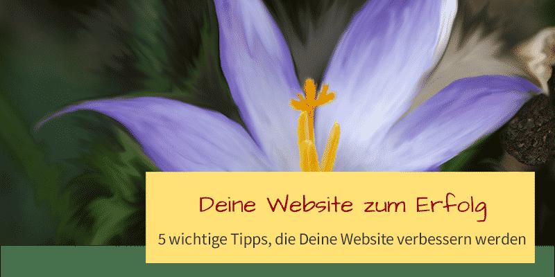 5 geniale Tipps, die Deine Website verbessern!