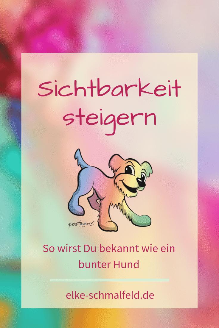 Bunter Hund - positoons by Elke Schmalfeld
