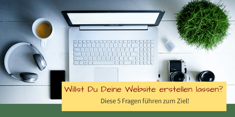 Deine Website erstellen lassen