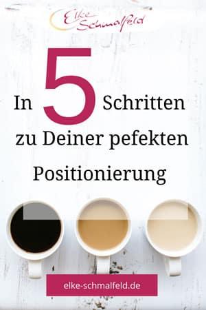 In 5 Schritten zur perfekten Positionierung