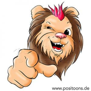 Positionierung mit Cartoons- positoons®