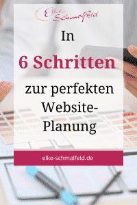 In 6 Schritten zur perfekten Website-Planung