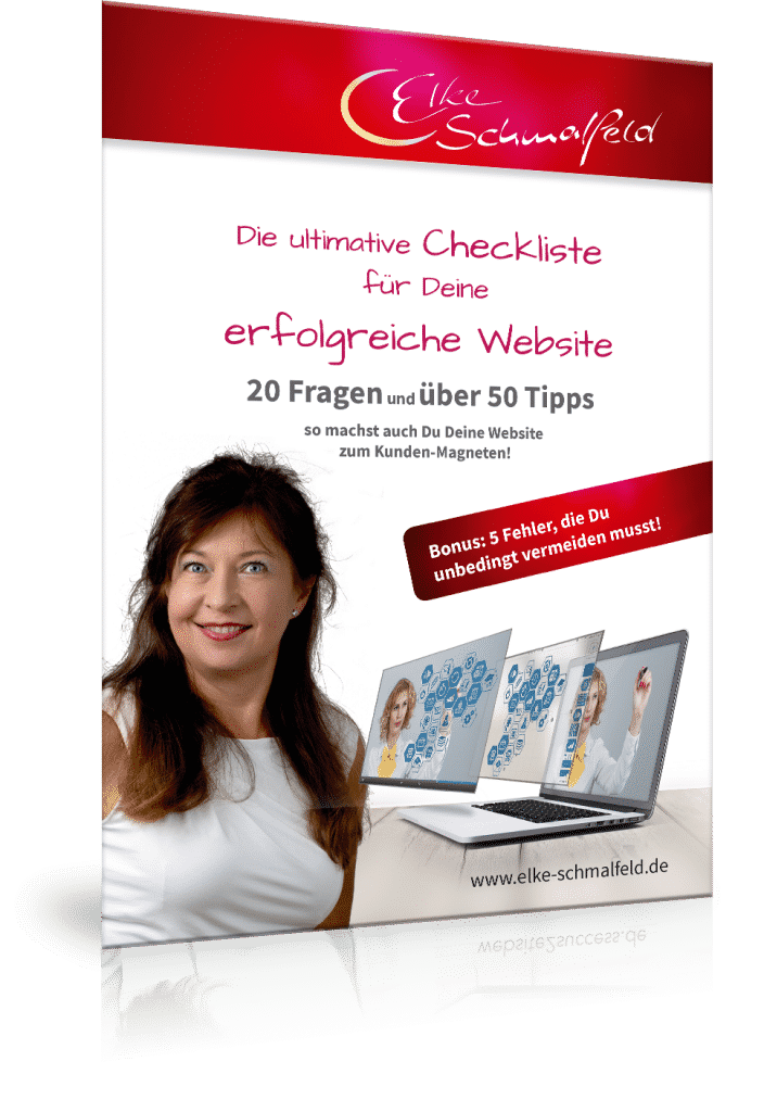 Website-Checkliste Elke Schmalfeld