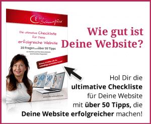Website Checkliste für Deine erfolgreiche Website