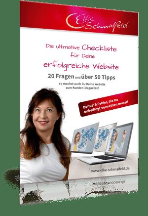 Website-Checkliste Elke Schmalfeld