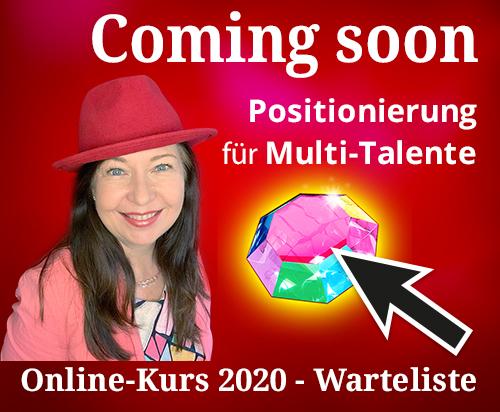 Positionierung für Multi-Talente