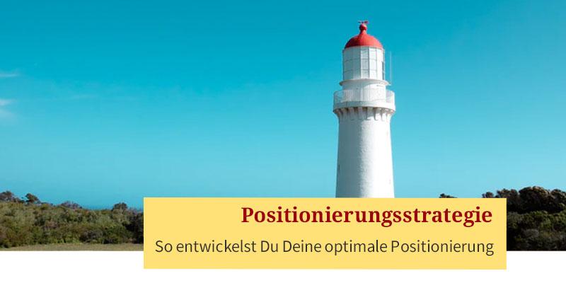Positionierungsstrategie - elke-schmalfeld