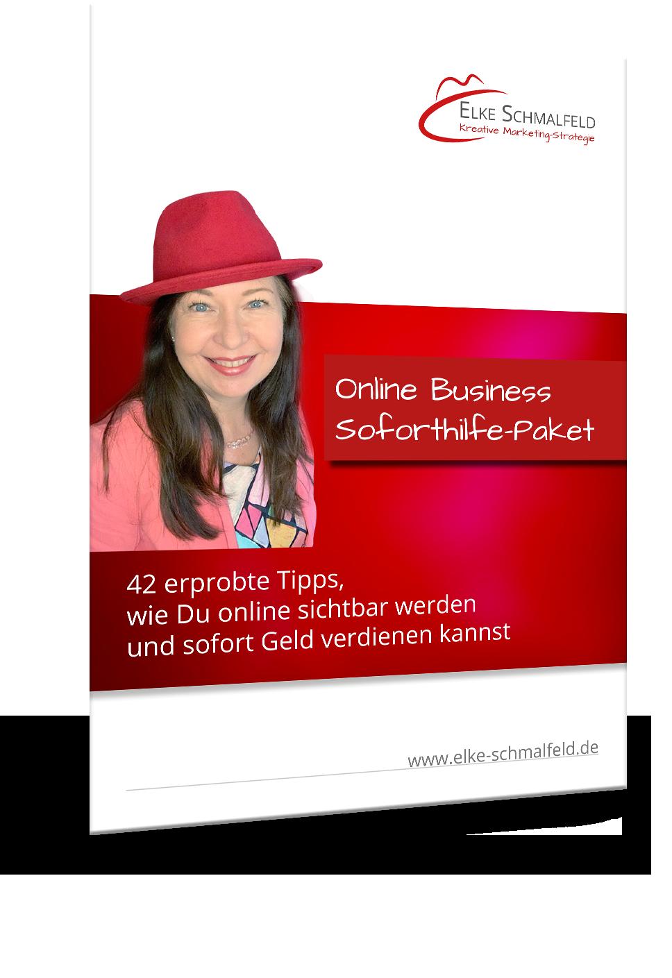 Online Business-Starthilfe-Paket Elke Schmalfeld