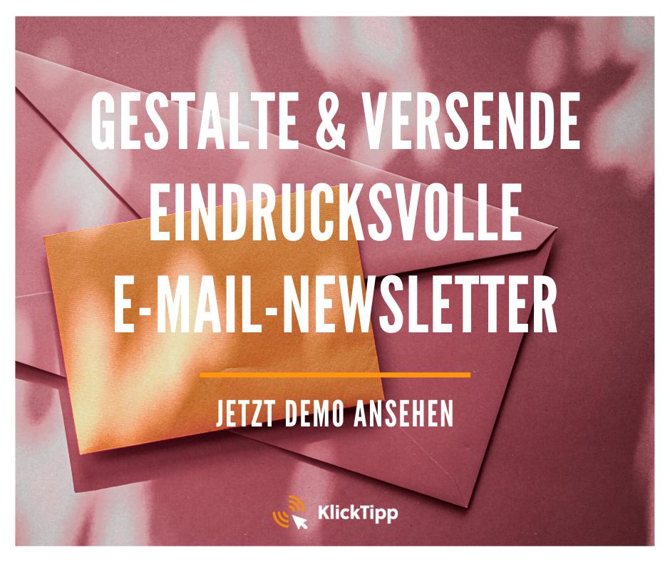 Eindrucksvolle Newsletter mit KlickTipp