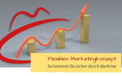 Mit Marketingkonzept sicher und flexibel durch die Krise