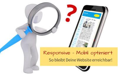 Bleibt Deine Website in google erreichbar?