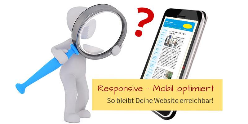 Responsive Design - Website mobil optimiert