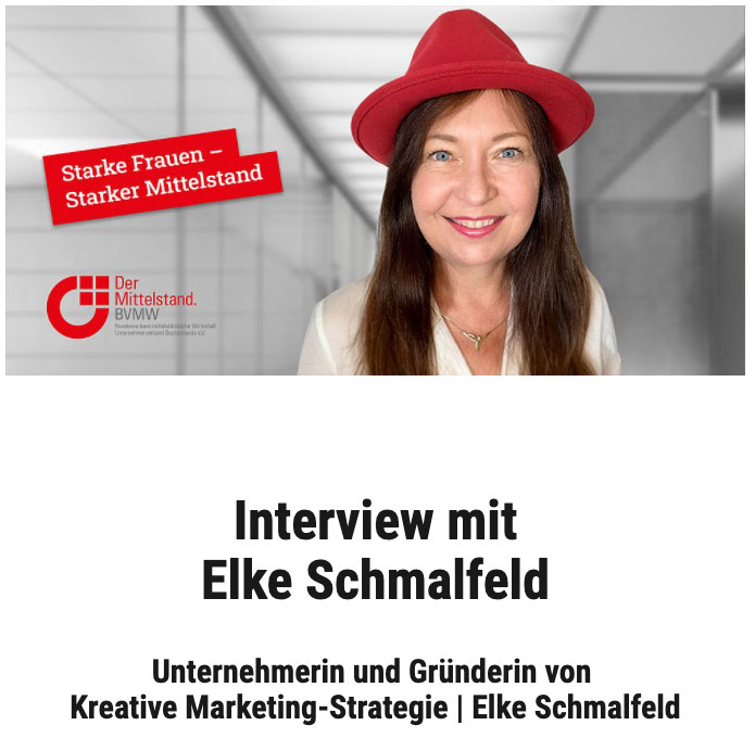 Starke Frauen - Starker Mittelstand im BVMW - Elke Schmalfeld