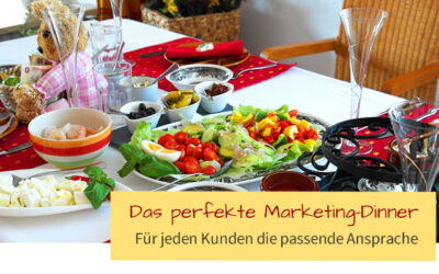 "Das ""perfekte Marketing-Dinner"""
