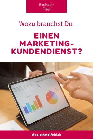 Wozu brauchst Du einen Marketing-Kundendienst?