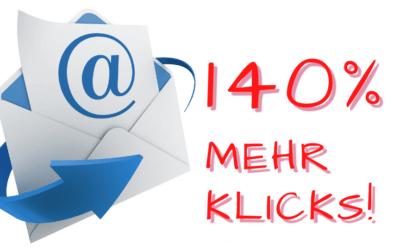 140 Prozent mehr Klicks durch Bilder in E-Mails